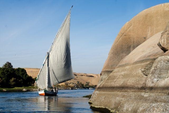 Feluca Nilo egitto