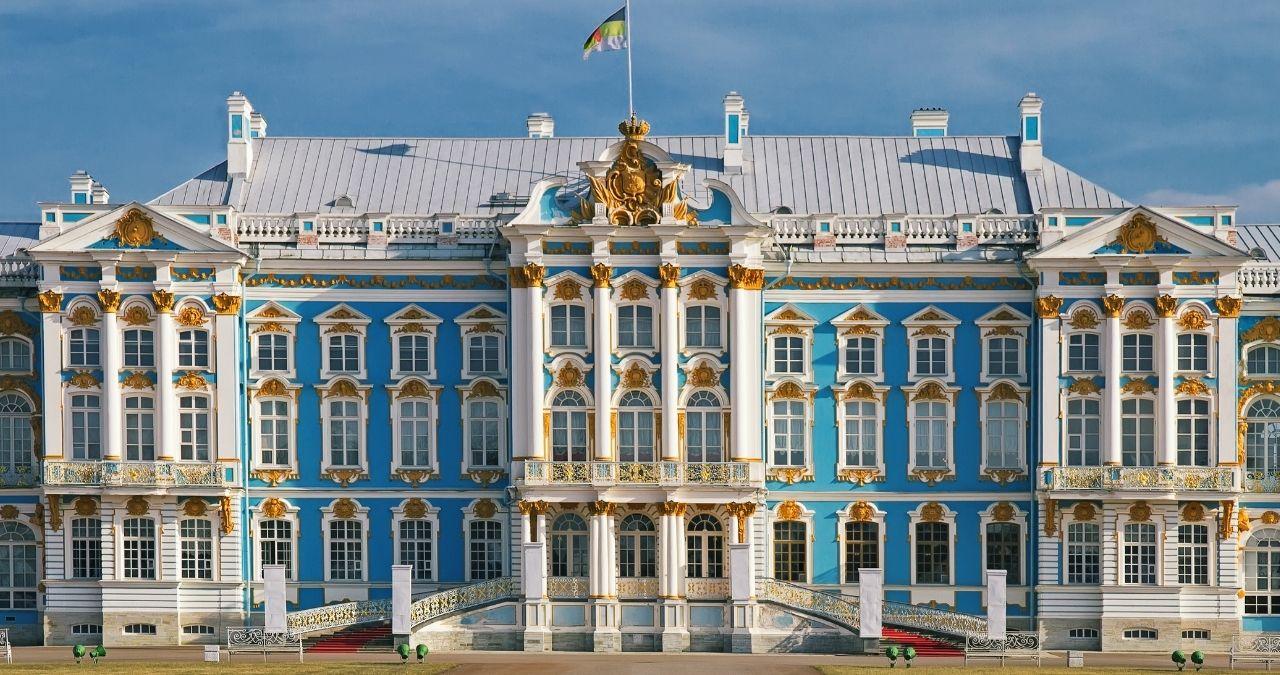 Pushkin palazzo caterina russia
